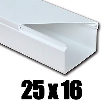 25x16 Kablo Kanalý Yapýþkanlý