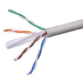 305 Metre CAT6 UTP 24 AWG Saf Bakýr Network Data Kablosu