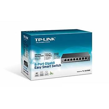 Tp-Link TL-SG1008D 8 Port 10/100/1000 Gigabit Switch
