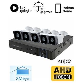 Oem 5 Kameralý 2.0mp AHD Paket - P205