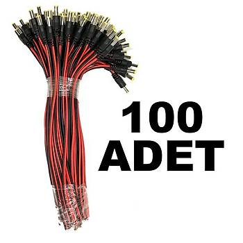 100 adet DC Power Jack