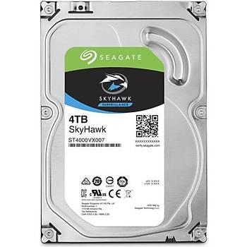 """Seagate Skyhawk 4 TB 3.5"""" 64MB 5900Rpm SATA 3.0 64HD Kamera 7/24 Güvenlik Diski (ST4000VX007)"""