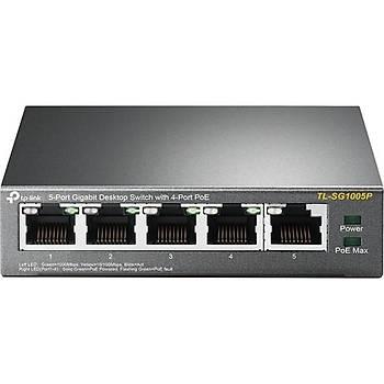 Tp-Link TL-SG1005P 5 Port 10/100/1000 Gigabit Switch POE
