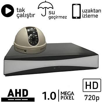 OEM 5010 AHD 1 Kameralý 1.0mp Paket - P170