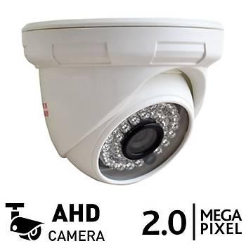 OEM BB 936 2.0mp AHD Dome Güvenlik Kamerasý (1080p)
