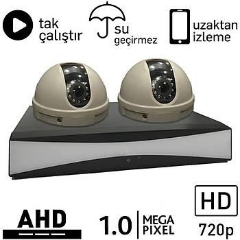OEM 5010 AHD 2 Kameralý 1.0mp Paket - P171