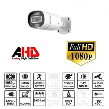 OEM BB 200 2.0mp AHD Güvenlik Kamerasý (1080p)