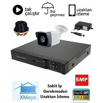 Oem 1 Kameralý 5.0mp AHD Eco Paket Kamera Sistemi - P501