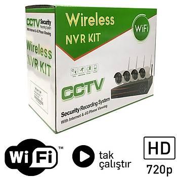 OEM Kablosuz Wi-Fi IP Güvenlik Kamerasý Paketi WF01 - P174