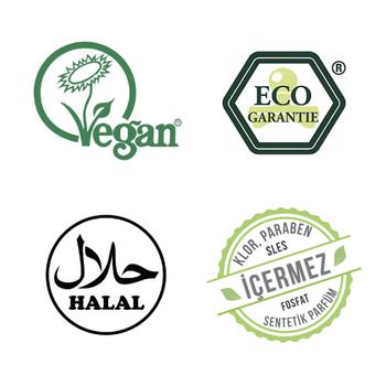 ECOGARANTİE ® Vegan Bitkisel Çamaşır Yumuşatıcı ( 1 lt )