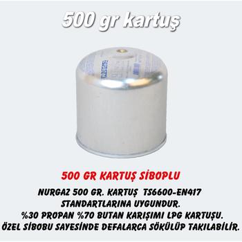 Nurgaz 500 GR KARTUÞ