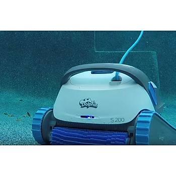 Dolphin S200 Havuz Robotu 12 metre boya kadar