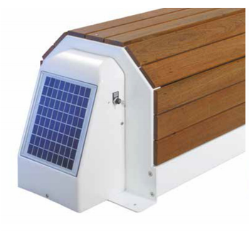 ASTRAL Otomatik Havuz Örtüsü Capcir Eco II Solar - Ahþap Desenli - Ölçü: 6 x 12 m
