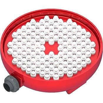Tüm Plastik- DIN Formu Polyester Süzgeç Tabanlý Kum Filtresi Gözetleme Camlý Model: 760 mm