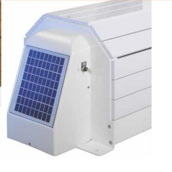 ASTRAL Otomatik Havuz Örtüsü Capcir Eco II Solar - Beyaz PVC - Ölçü: 4 x 10 m