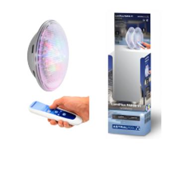 ASTRAL LumiPlus PAR56 V1 LED RGB AC 2 Ampul + 1 Kumanda 8'li Paket