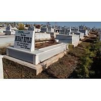 20 cm Yüksekliğinde Mermer Mezar