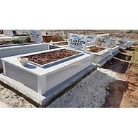 30 cm Yüksekliğinde Mermer Mezar