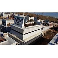 Özel yapım Mermer mezar (İçe Doğru Konik)