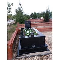 Tamamı siyah Granit Mezar