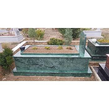 Verde Guatemala (Yeþil) Granit Mezar