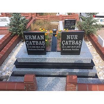 Çift Kiþilik özel yapým granit mezar