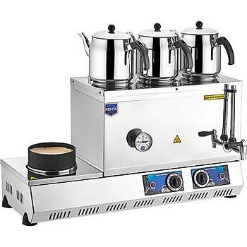 Remta 55 Model Elektrikli Çay Ocaðý + Kumda Kahve 33 lt