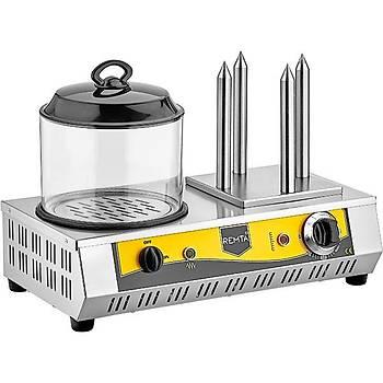 Remta 4 Kazýklý Hot Dog Makinesi