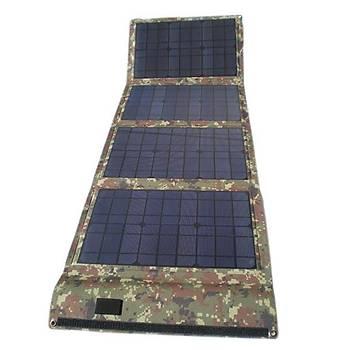 Taþýnabilir / Katlanabilir Güneþ Enerji Paneli •60W – 18V – 3300A