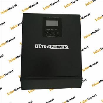 ULTRAPOWER 3KVA 2400W 24V + 50A Tam Sinüs Ýnverter