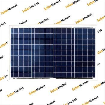 60W Poly Kristal Solar Panel