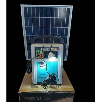 ECOBOX 310 Taþýnabilir Solar Kit