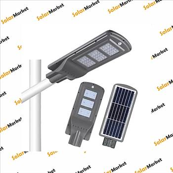 Vess 60W LED Güneþ Enerjili Aydýnlatma