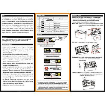 65 AH 65 A Outdo Jel AKÜ (LCD Ekranlı)