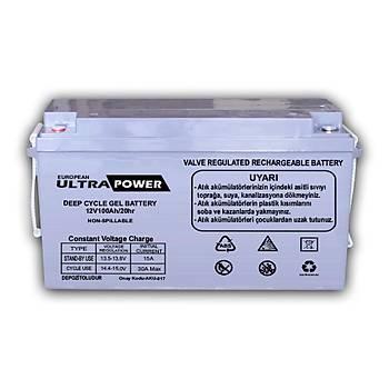 100Ah ULTRA POWER JEL AKÜ