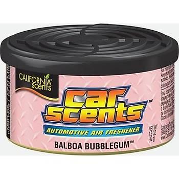 California Car Scents Balboa Bubblegum Sakýzlý Oto Kokusu