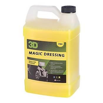 3D Magic Dressing-Solvent Bazlý Lastik Parlatýcý 3.79 Lt