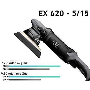 Shine Mate EX620 5/15 Orbital Deluxe Polisaj Makinesi 125mm