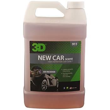 3D New Car Perfume - Yeni Araç Kokusu 3.79 lt