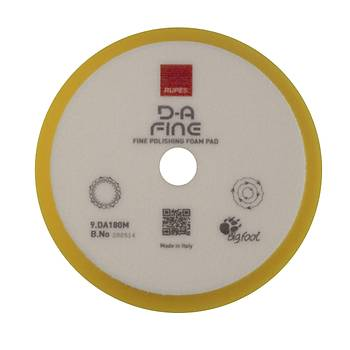 Rupes DA Fine Yeni Tasarým Ara Kat Pasta Süngeri 150/180 mm LHR 21 ve Rotary 150 mm Taban Uyumlu