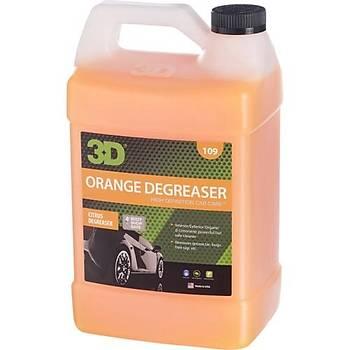 3D Orange Citrus Degreaser-Agresif Temizleyici 3.79 LT.
