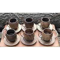 Ceviz Kahve Fincan Takýmý (6lý)