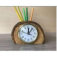 Masaüstü Saat-Kalemlik