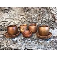 Türk Kahvesi Fincan Seti (2kiþilik 7 parça )