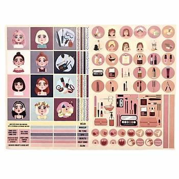 Make Up Sticker Seti