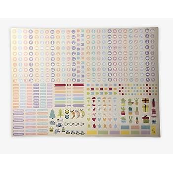 L'agenda Sticker Seti