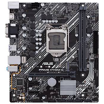 ASUS PRIME H410M-D DDR4 2933/2133 MHz HDMI mATX 1200p