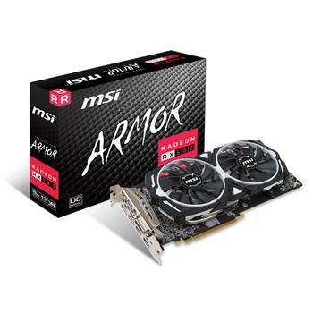 MSI RX 580 ARMOR 8G OC 256Bit 2XDP/2XHDMI/DVI