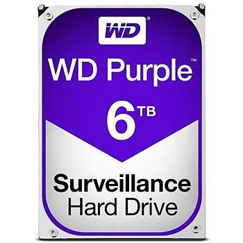 6TB WD Purple SATA6 64MB DV 7x24 WD60PURZ
