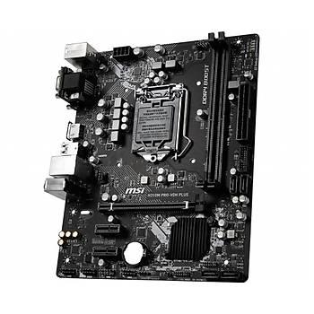 MSI H310M PRO-VDH PLUS DDR4 2666 mATX 8.NESÝL